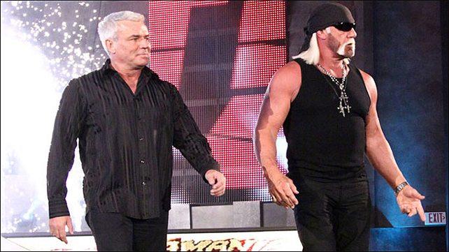 Eric Bischoff e Hulk Hogan