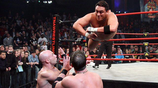 Samoa Joe, Christopher Daniels e AJ Styles