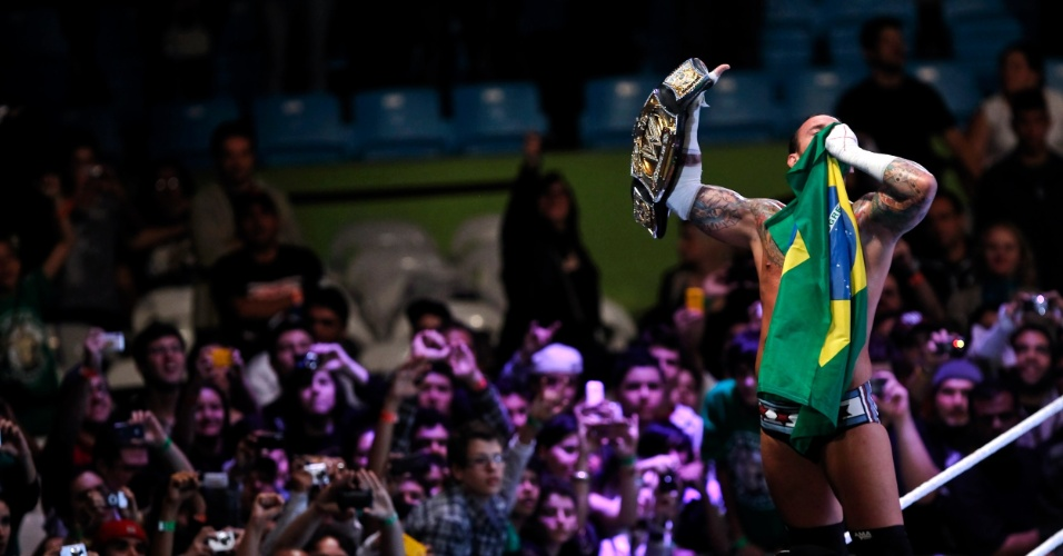 Última vez que a WWE esteve no Brasil