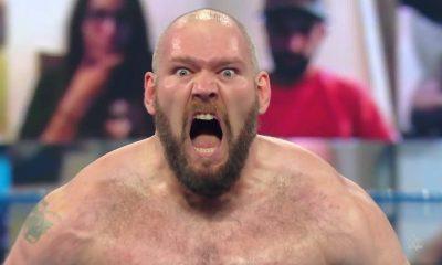 Lars Sullivan demitido da WWE